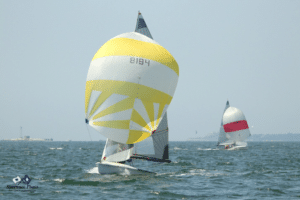505s going downwind at ECCs 2019