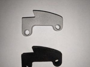 Printed Halyard Lock Holes